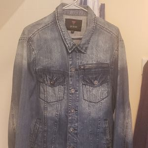 Vintage Guess Medium Wash Denim Jacket